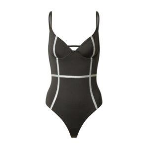 OW Intimates Jednodielne plavky 'GIA'  čierna / biela
