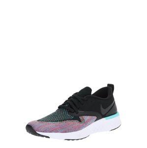 NIKE Bežecká obuv 'Odyssey React Flyknit 2'  vodová / fialová / čierna