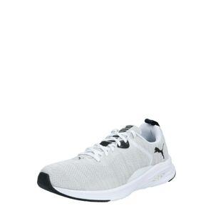 PUMA Bežecká obuv  biela / sivá