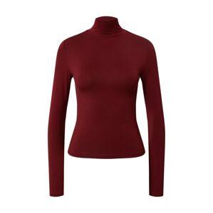 Gina Tricot Tričko 'Dorsia'  vínovo červená