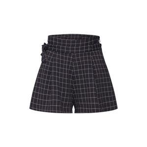 Parallel Lines Plisované nohavice  čierna