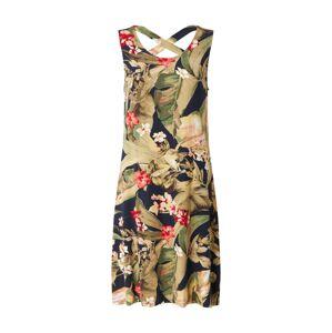 ZABAIONE Letné šaty 'Gia'  námornícka modrá / kaki / zelená / červená
