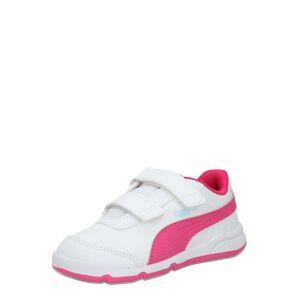 PUMA Športová obuv 'Stepfleex 2 SL VE V Inf'  biela / ružová