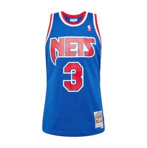 Mitchell & Ness Tričko 'NBA NETS - D.Petrovic'  kráľovská modrá / červená