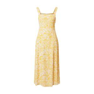 Cotton On Letné šaty 'Maddy'  svetlooranžová / biela