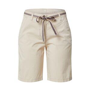 TOM TAILOR Chino nohavice  krémová