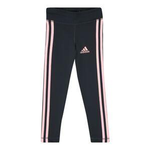 ADIDAS PERFORMANCE Športové nohavice  antracitová / ružová