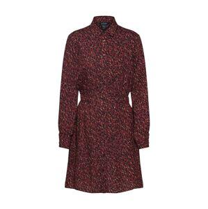 NEW LOOK Košeľové šaty  zmiešané farby / vínovo červená