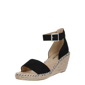 ABOUT YOU Sandále 'Leona'  čierna