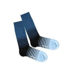 DillySocks Ponožky 'Cool Down'  modrá / čierna
