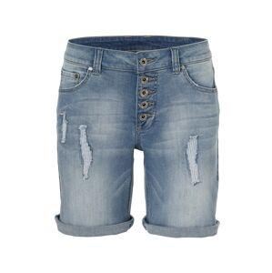 heine Džínsy 'Boyfriend-Shorts'  modrá denim