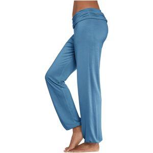 BUFFALO Pyžamové nohavice  modrá