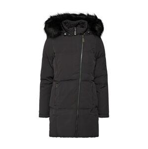 DREIMASTER Zimná bunda 'DREIMASTER DAMEN MANTEL'  čierna
