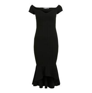Missguided (Petite) Kokteilové šaty  čierna