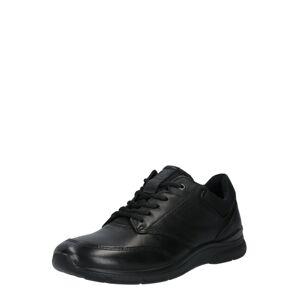 ECCO Šnurovacie topánky 'Irving'  čierna