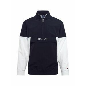 Champion Authentic Athletic Apparel Funkčná bunda  biela / čierna