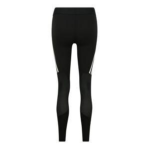 ADIDAS PERFORMANCE Športové nohavice 'ALPHASKIN SP 3 STRIPE'  čierna