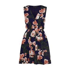 Mela London Letné šaty 'BLOSSOM ROSES'  námornícka modrá