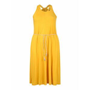 Ragwear Plus Šaty 'MILIE'  žltá