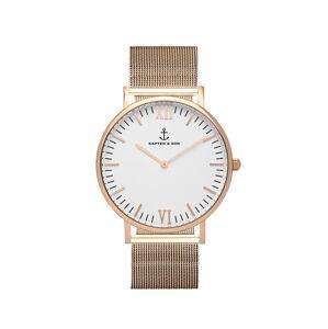 Kapten & Son Analógové hodinky 'Campina Mesh'  bronzová