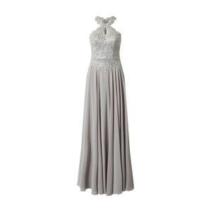 LUXUAR Večerné šaty  svetlosivá / strieborná