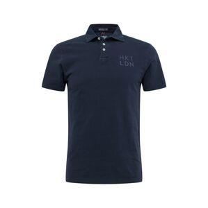 HKT by HACKETT Tričko  námornícka modrá
