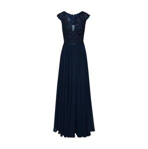 LUXUAR Večerné šaty  tmavomodrá