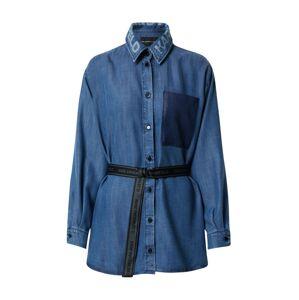 Karl Lagerfeld Denim Blúzka  modrá denim