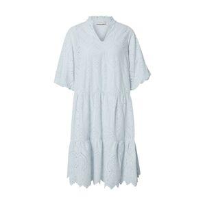 Neo Noir Košeľové šaty 'Kiko Embroidery'  svetlomodrá