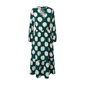 Dorothy Perkins Šaty  biela / zelená