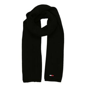 Tommy Jeans Šál  červená / čierna / biela / tmavomodrá