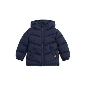 MANGO KIDS Zimná bunda 'ALDO'  námornícka modrá