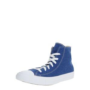 CONVERSE Členkové tenisky 'CTAS HI'  biela / modrá