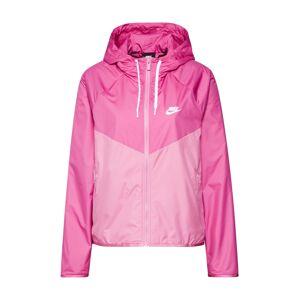 Nike Sportswear Prechodná bunda 'Windrunner'  ružová / svetloružová