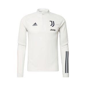 ADIDAS PERFORMANCE Športová mikina 'Juventus Turin'  čierna / svetlosivá
