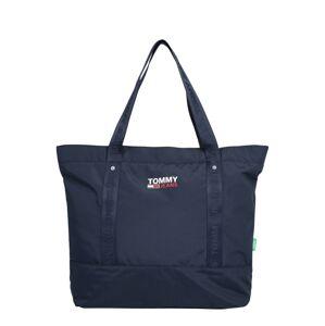 Tommy Jeans Shopper  námornícka modrá / biela / svetločervená