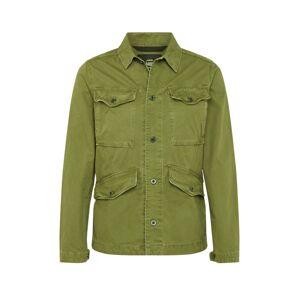 G-Star RAW Prechodná bunda 'Vodan Worker Overshirt'  olivová