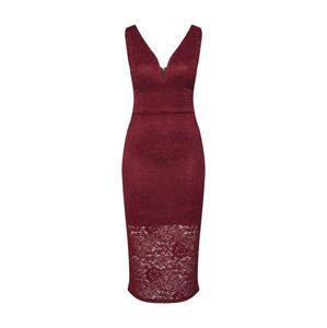 WAL G. Kokteilové šaty 'WG 6292'  vínovo červená