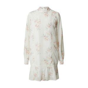 NA-KD Letné šaty  biela / ružová