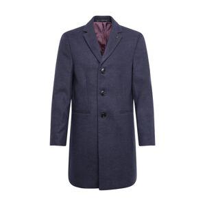 BURTON MENSWEAR LONDON Prechodný kabát 'NAVY FAUX CROMBIE'  námornícka modrá