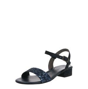 Paul Green Remienkové sandále  tmavomodrá / námornícka modrá