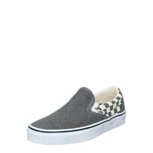 VANS Slip-on obuv  biela / sivá