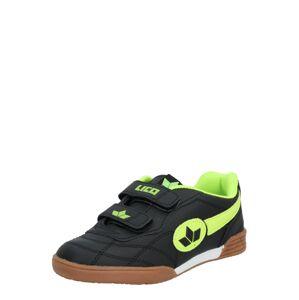 LICO Športová obuv  neónovo žltá / čierna