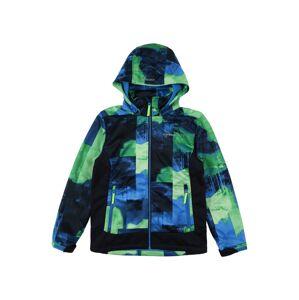 ICEPEAK Outdoorová bunda 'LANGFORD'  modrá / zelená