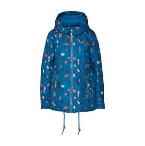 Ragwear Prechodná bunda 'ZUZKA BLOSSOMS'  zmiešané farby / modrá