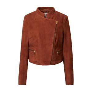 VILA Prechodná bunda 'GWEN'  hrdzavo červená