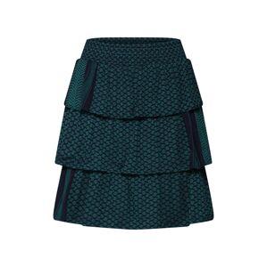 Cecilie Copenhagen Sukňa 'Becky Skirt'  modrá / zelená