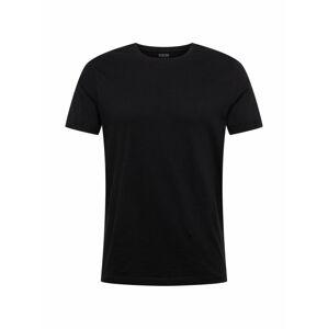 BURTON MENSWEAR LONDON Tričko 'BLACK ORGANIC RS TEE'  čierna