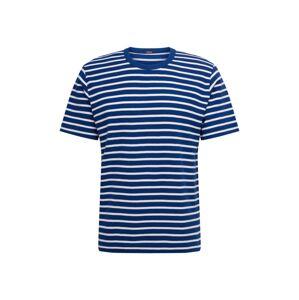 DENHAM Tričko 'AMERICANA'  biela / námornícka modrá