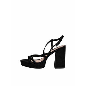 ONLY Remienkové sandále  čierna
